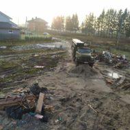 Бурение скважины в пос. Холмогоровка, декабрь 2019