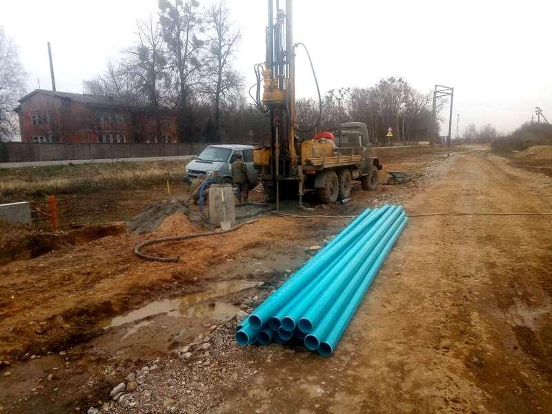 Бурение скважины на воду в поселке Борисово