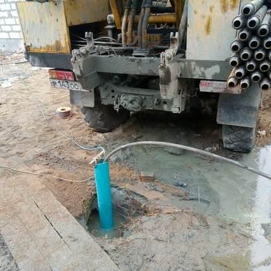 Скважина с отсечением грунтовых вод