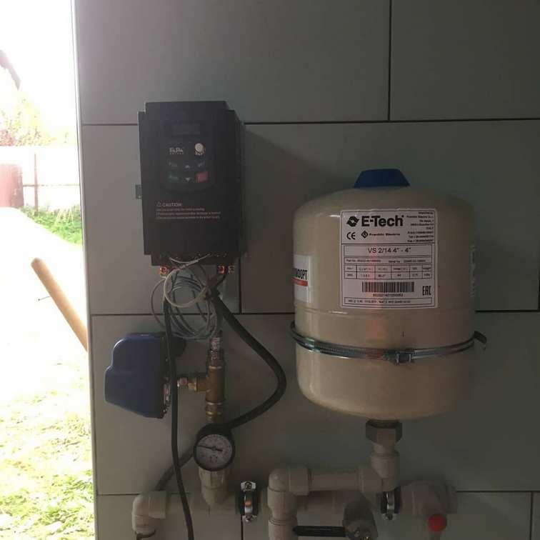 Монтаж насосного оборудования в пос. Петрово