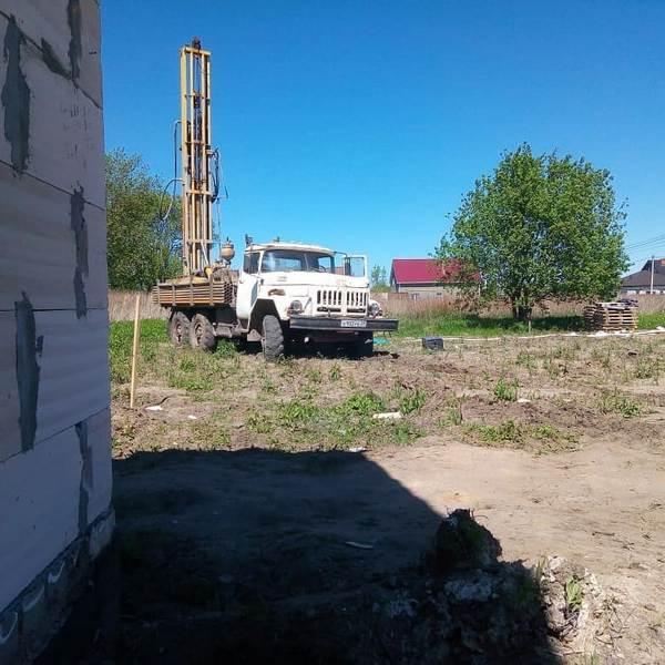 Бурение скважины в г. Гурьевск