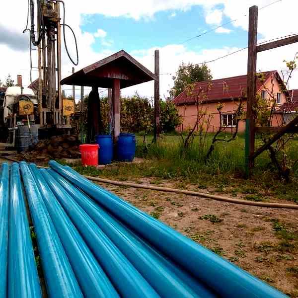 Бурение скважины в поселке Нивенское