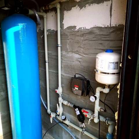 Монтаж оборудования водоподготовки