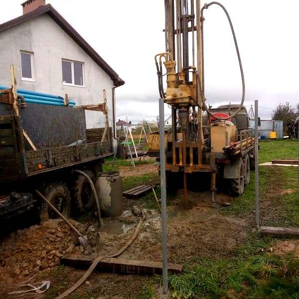 Скважина в поселке М. Ваильково