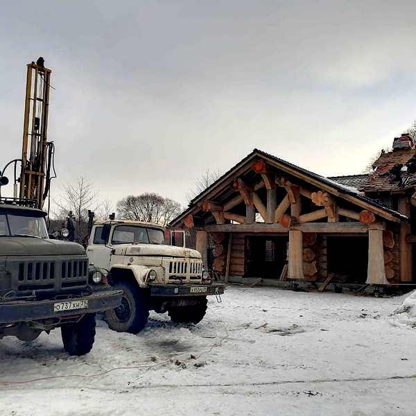 Скважина в п. Малиновка, Гурьевский район