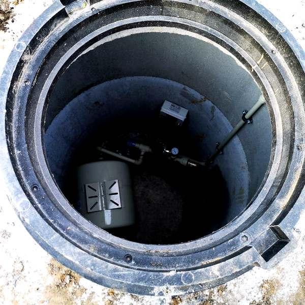 Скважина в Янтарном